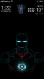 「アイアンマン」ロック画面テーマ JellyLock  – iPhone
