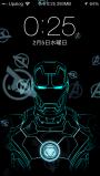 JellyLock7用 「アイアンマン mark42」ロック画面テーマ
